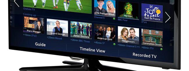 Samsung UE32F5500, la smart TV accessibile