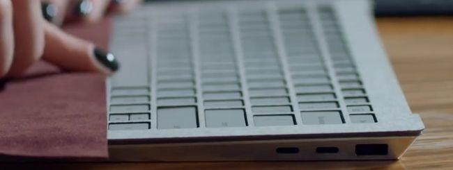 Il Surface Laptop aveva due porte USB Type-C