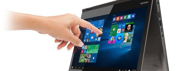 IFA 2015: Toshiba Radius 12, display 4K e Windows 10