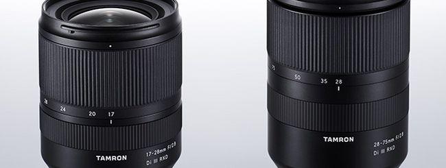 Tamron 17-28mm f/2.8 Di III RXD: potrebbe essere annunciato in questi giorni