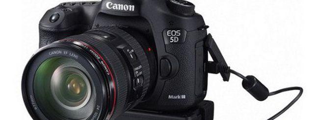 Canon EOS 5D Mark III, manuale disponibile in PDF