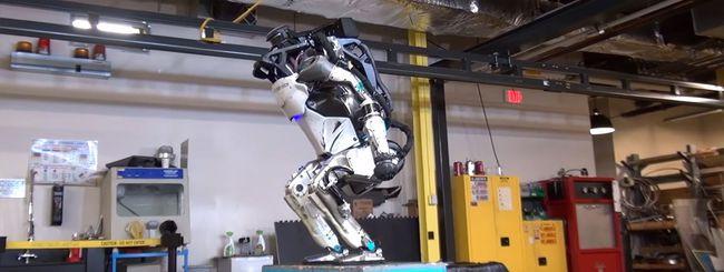 Boston Dynamics: il robot Atlas e il backflip