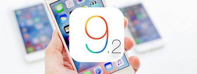 iOS 9.2, prestazioni migliori sugli iPhone più vecchi