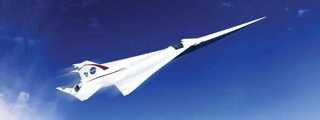 NASA progetta un nuovo aereo supersonico