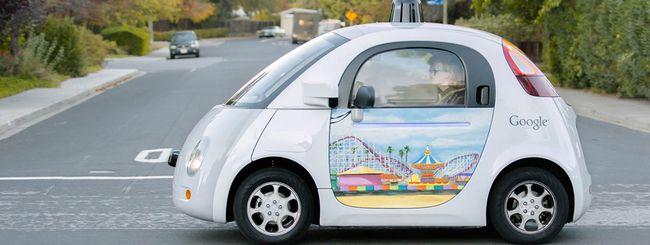 La Google self-driving car ha causato un incidente