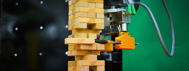 Dal MIT il robot che gioca a Jenga