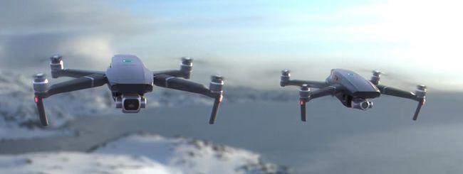 DJI annuncia i nuovi droni Mavic 2 Zoom e Pro