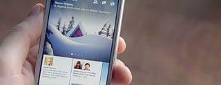 Facebook Paper per iPhone, le immagini