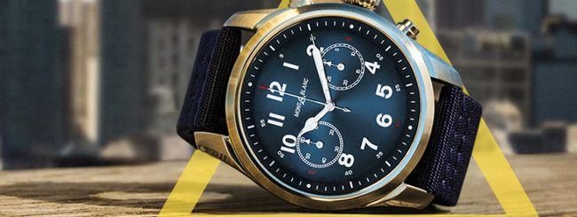 Montblanc Summit 2, lussuoso smartwatch con Wear OS