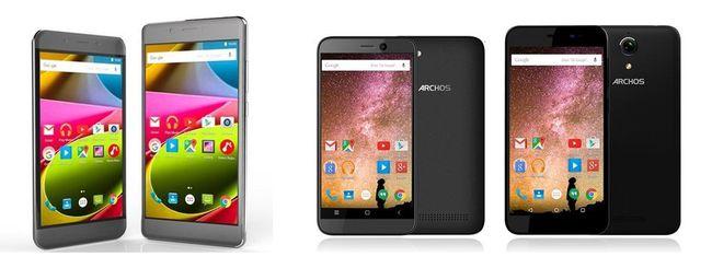 Archos Power e Cobalt, nuovi smartphone Android