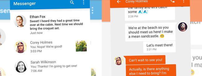 Google lancia Messenger su Android, per SMS e MMS