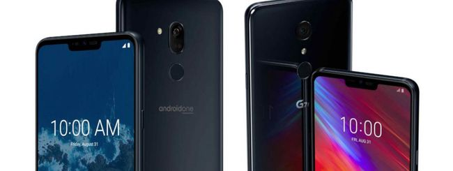 LG G7 One e G7 Fit, schermo FullVision con notch
