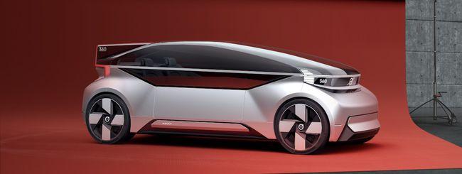 360c, la concept car di Volvo a guida autonoma