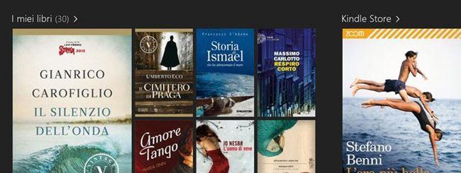 Amazon aggiorna l'app Kindle per Windows 8