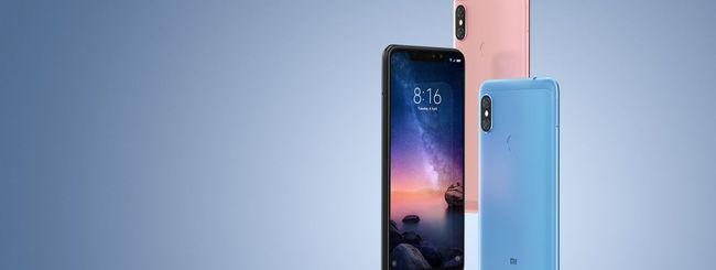 Xiaomi Redmi Note 6 Pro, arrivo ufficiale in Italia