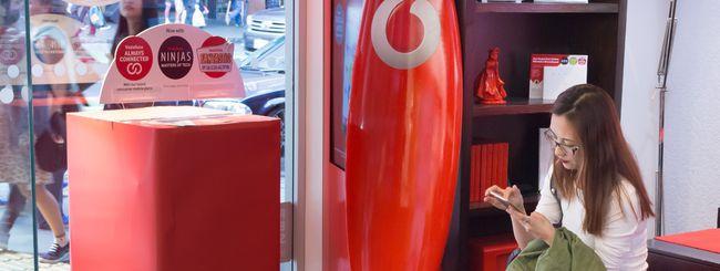 Vodafone chiuderà 1000 negozi in Europa