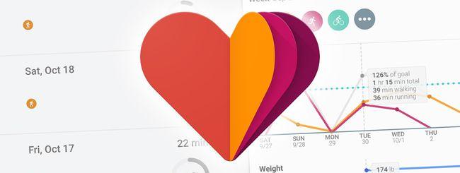 Google Fit: supporto per 100 nuove attività