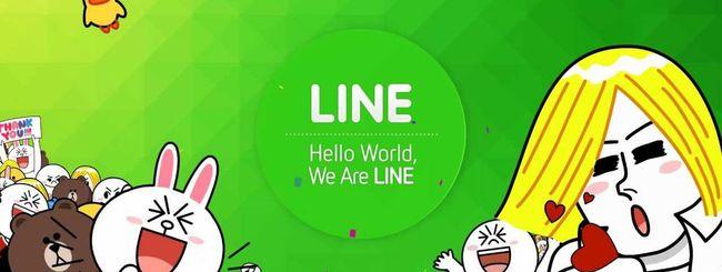 LINE annuncia le chiamate vocali di gruppo