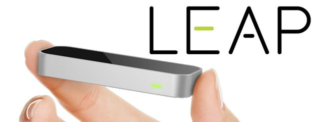 Leap, il piccolo sensore che sfida Kinect