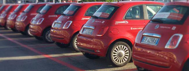 Enjoy, il car sharing sbarca a Fiumicino