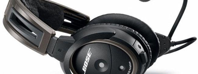 Bose A20, le cuffie avioniche di nuova generazione