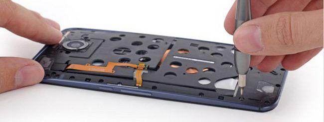 Nexus 6 smontato: ripararlo non è così semplice