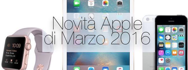 Evento Apple 21 Marzo: tutti i prodotti attesi da iPad Pro a iPhone SE