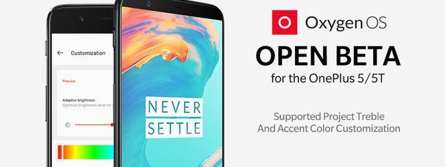 OnePlus 5 e 5T supporteranno Project Treble