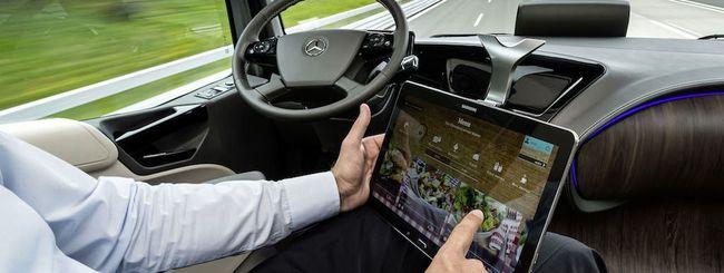 Mercedes Future Truck, camion a guida autonoma