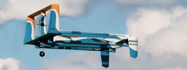 Amazon svela il design dei suoi droni