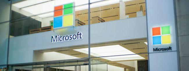 Microsoft chiude quasi tutti i suoi store fisici