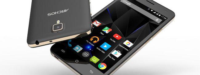 Archos 50d Oxygen, smartphone elegante e moderno