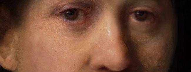 Il computer che dipinge come Rembrandt