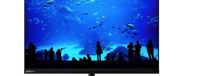 Lenovo presenta i nuovi monitor L28u e G34w