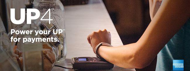 Jawbone UP4, pagamenti con American Express
