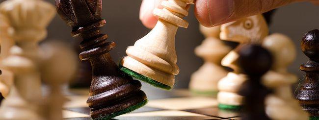 Gli scacchi, in Facebook Messenger
