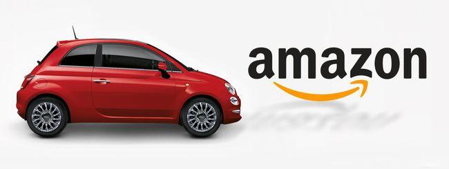 Fiat sbarca su Amazon, la 500 si compra online