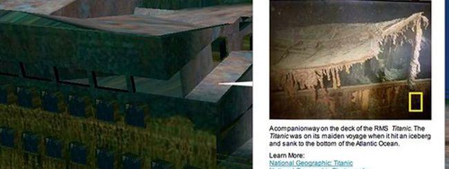Titanic: un tour virtuale 3D con Google Earth