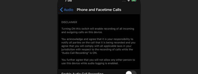 iOS 14, la registrazione chiamate c'è ma verrà rimossa
