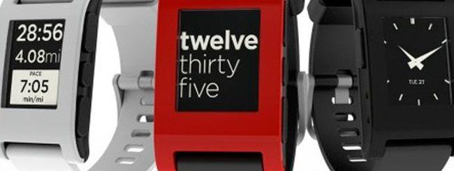 Pebble, uno smartwatch e-ink per Android e iOS