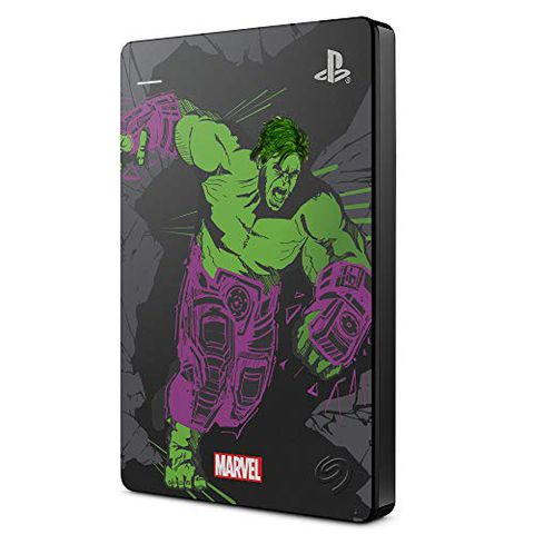 Seagate Game Drive per PS4 Avengers. Hulk Special Edition, 2 TB
