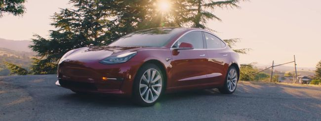 Tesla Model 3 al Goodwood Festival of Speed