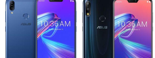 ASUS annuncia ZenFone Max M2 e Max Pro M2