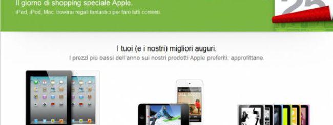 Solo per oggi prodotti scontati sull'Apple Online Store