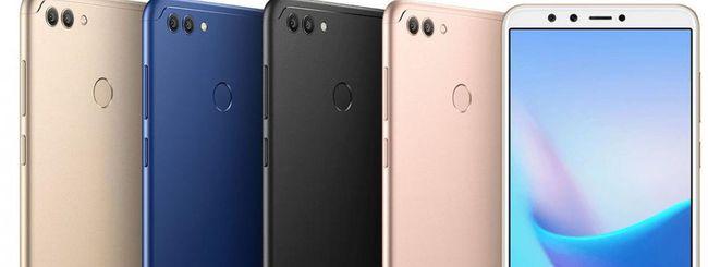 Huawei annuncia tre smartphone Enjoy 8