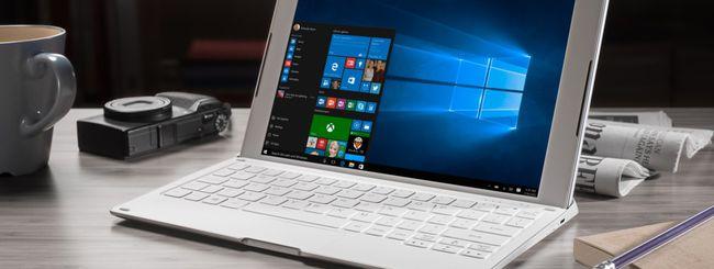 Alcatel Plus 10, tablet 2-in-1 con LTE e Windows 10