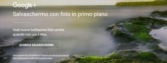 Google lancia Salvaschermo, ma solo per i Mac