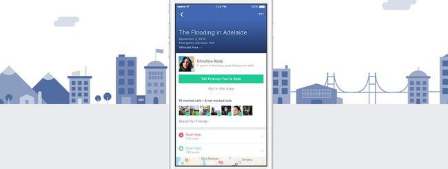 Facebook Safety Check diventa permanente