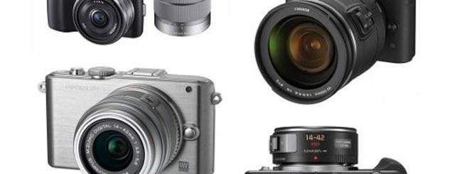 Nikon 1 J1, Sony NEX-C3 e altre mirrorless a confronto