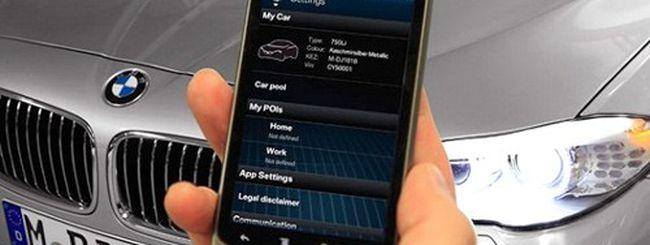 My BMW Remote, l'automobile si controlla con Android
